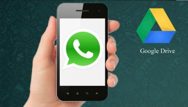 Cómo guardar mensajes de WhatsApp en Google Drive
