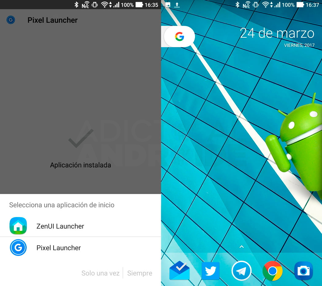 launcher android o