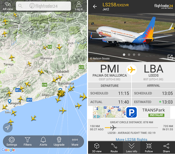 FlightRadar 24 android