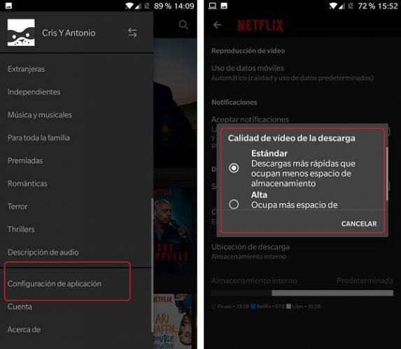 trucos para utilizar la app de Netflix
